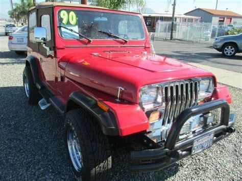 1990 Jeep Laredo For Sale Buy Used 1990 Jeep Wrangler Laredo Sport Utility 2 Door 4