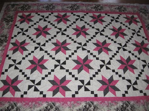 Black And Pink Quilt by Pink Black Quilt