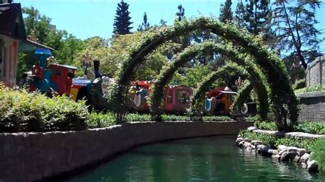 land boat storybook land canal boats disneyland 2010 youtube