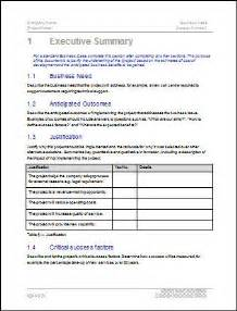 How To Write A Business Case Template Business Case Template 22 Pages Ms Word With Free Sample
