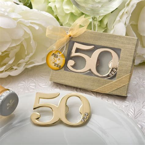 50th Birthday Party Giveaways - 50th birthday bottle opener