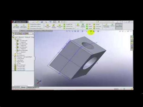 solidworks tutorial beginner 2014 solidworks 2014 2015 tutorial for beginners youtube