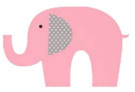 Girlset Pink Elephant baby elephant pink elephant clipart kid clipartix