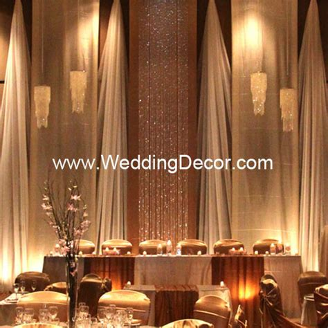 Wedding Backdrop With Crystals by Wedding Backdrop Chagne Ivory Flickr Photo