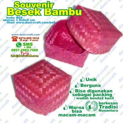 Besek Wadah Bolu Anyam Bambu besek bambu souvenir besek buluh souvenir pernikahan