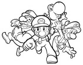 luigi coloring pages mario coloring pages free printable pictures coloring