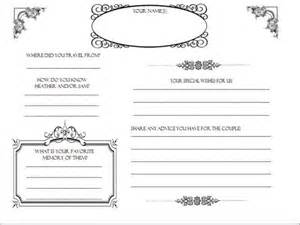 Wedding Guestbook Template by Scrapbook Guestbook Templates Weddingbee
