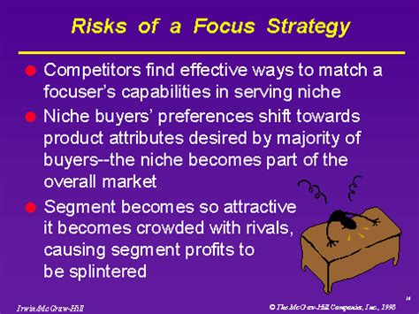 Mba With Focus On Strategy by Risks Of A Focus Strategy
