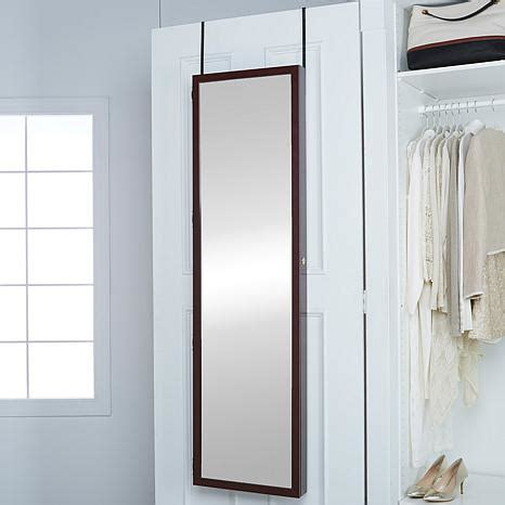 hsn hanging jewelry armoire over the door jumbo jewelry armoire 7978396 hsn