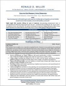 Exle Of An Executive Resume by Executive Resume Sles Professional Resume Sles Resumes By Joyce 174