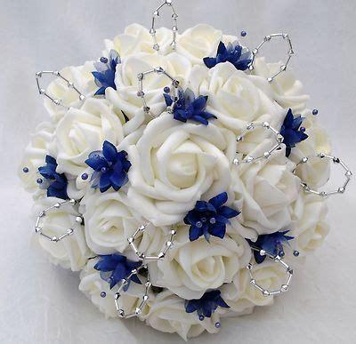 Flower Posies Weddings by Posies Artificial Wedding Flowers Brides Posy Bouquet