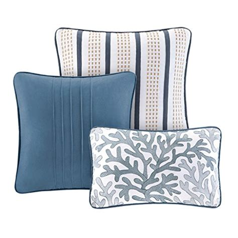 madison park bayside 7 piece comforter set cheap madison park bayside coverlet set blue full