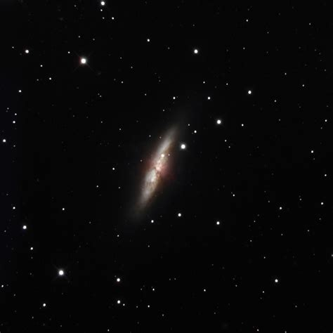 this closest images of closest supernova in years in galaxy m82