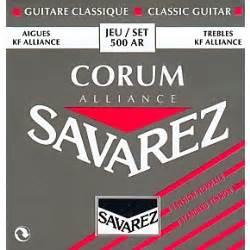 Savarez 500 Ar Corum Alliance Original savarez 500ar alliance corum normal tension guitar strings