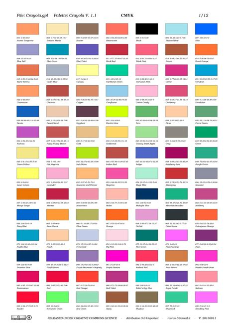 crayola color list crayola by rosros 3 on deviantart