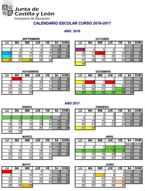 Calendario Escolar 2017 Castilla Y El Curso Escolar 2016 2017 Comienza El Lunes 12 De
