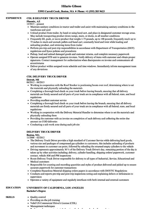 sample driver resume beautiful sample courier delivery driver resume