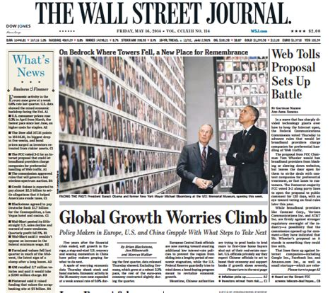 Wsj Personal Journal Section by Wall Journal Front Page Foto 2017