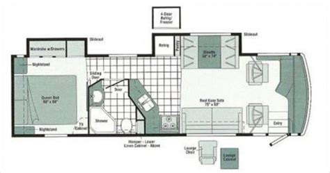 winnebago via floor plans winnebago via floor plans winnebago via floor plans 2011 winnebago via floor plans
