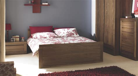 bedroom furniture at b q contemporary dark wood free standing bedroom furniture