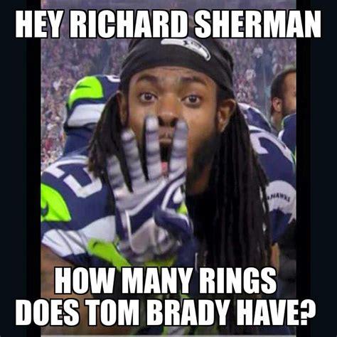 Sherman Meme - richard sherman tom brady memes