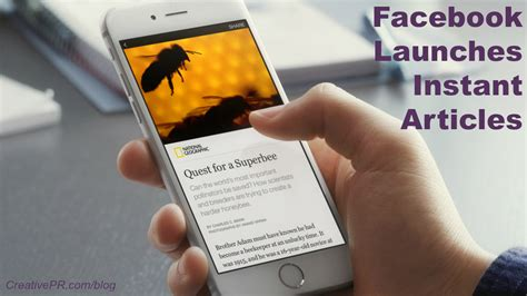 fb instant articles facebook instant articles the network s native publishing