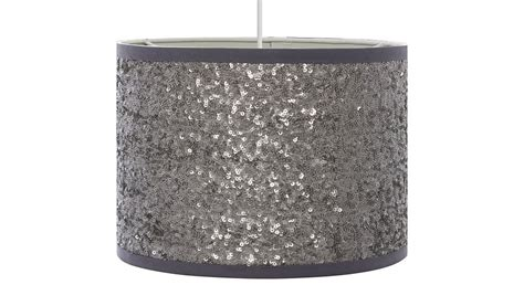silver sequin l shade george home sequin light shade silver lighting