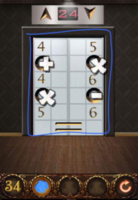 100 floors 2 escape level 34 100 doors hell prison escape level 34 walkthrough