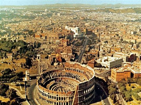 My View Of Rome by Rome Italy