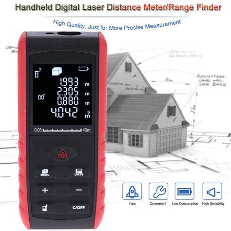 Laser Distance Meter 40 M Meteran Laser Digital 40m 40m high precision digital laser rangefinder handheld
