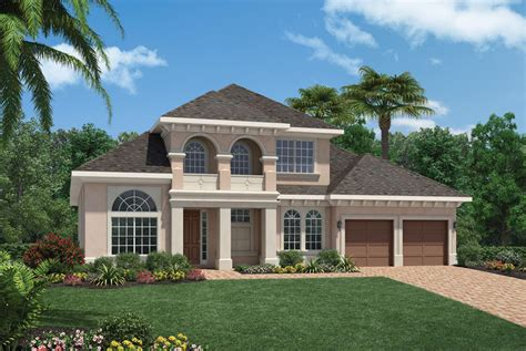 Meritage Home Floor Plans by San Tropez