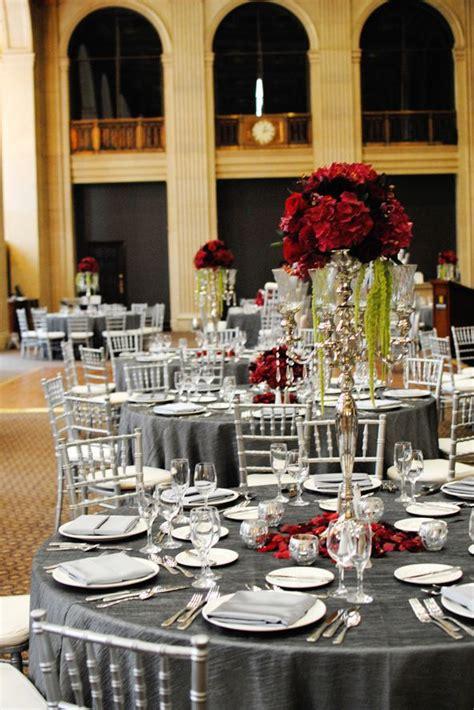 best 25 silver wedding ideas on black wedding and black table