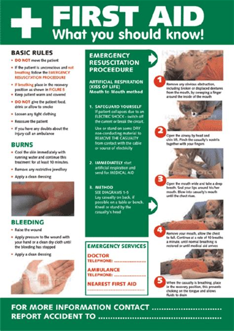 first aid awareness poster   first aid   your one stop health and safety signs shop