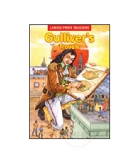 travels through and italy large print books gulliver s travels large print story books by bpi
