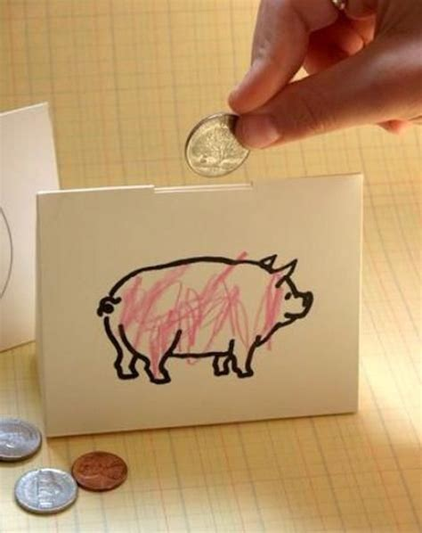 Make Paper Feel Like Money - piggy bank diy piggy bank and diy on