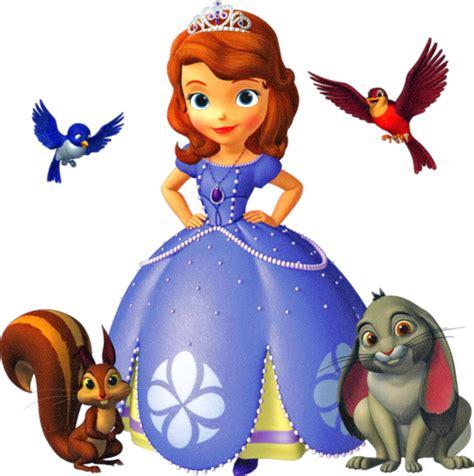 Bm1036 Disney Sofia Princess walt disney s princess sofia the and animal friends window cling decal ebay
