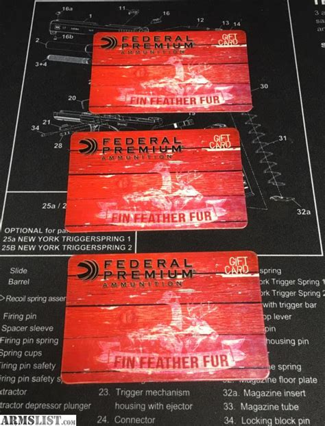 Mgm Gift Cards - armslist for sale fin feather fur gift cards