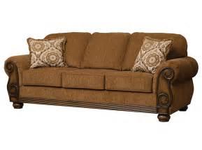 sofas with wood trim serta 8000 brazil wood trim sofa delano s furniture and