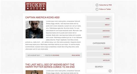 blog layout html css how to code a blog theme concept in html css