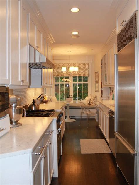 narrow galley kitchen ideas narrow galley kitchen design ideas