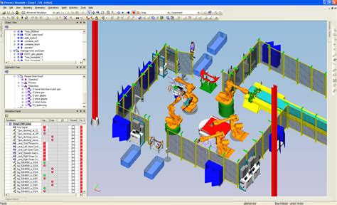 simulazione placement test tecnomatix process simulate 4d systems