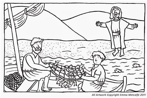 coloring page of disciples fishing choosing the twelve apostles check out choosing the