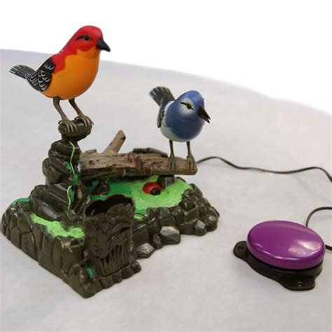 Special Tirai Magnet Bird Termurah vibration lights sound effect toys for children with special needs