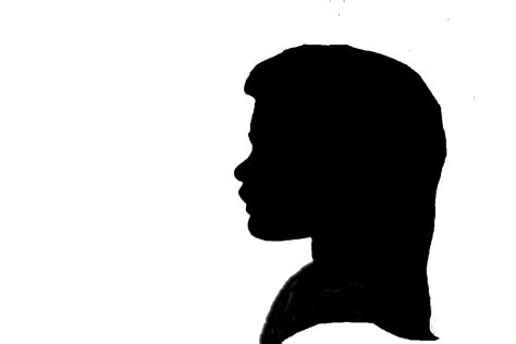 silhouette clip side silhouettes clipart clipart suggest