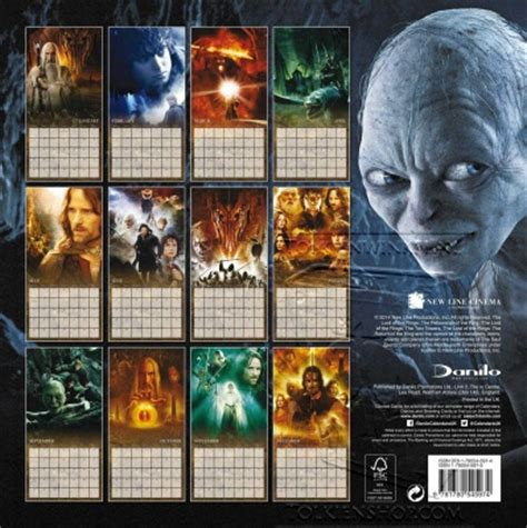 tolkien by tove jansson calendar 2018 calendar club uk kalenders