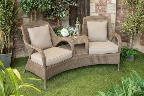 Garden Furniture Seats 4 Seasons Outdoor Sussex Seat Woven Garden