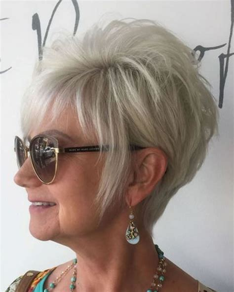 pixie haircuts for women over 50 fron the back pixie short haircuts for older women over 50 2018 2019