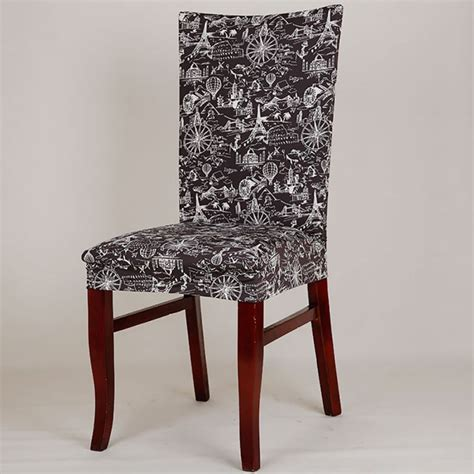 vintage dining room chair covers retro dining room home banquet elastic chair cover seat