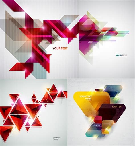 geometric vector tutorial photoshop creative geometric background vector material my free