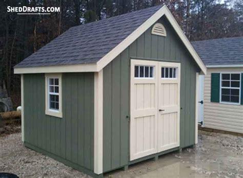 storage shed plans blueprints  durable patio shed